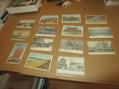VINTAGE Antique C. Early 1900's to 1930's Atlantic City New Jersey Postcard Lot