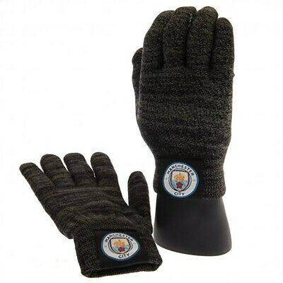 Manchester City F.C - Luxury Touchscreen Gloves (YOUTHS)