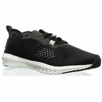Reebok Womens Astroride Flex Black/White/Pure Silver Cross Trainer Running Shoes