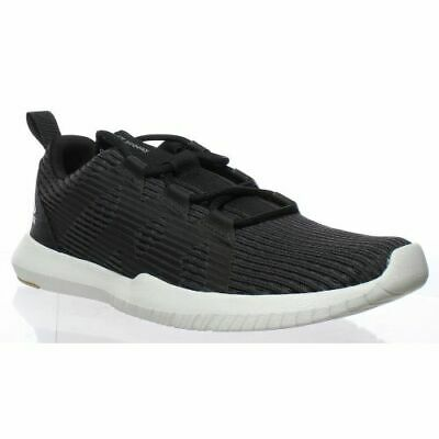 Reebok Womens Athletic Reago Pulse Black Cross Training Shoes