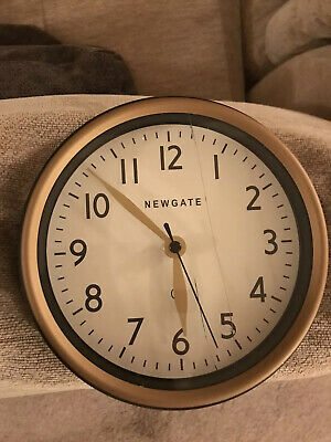New Cookhouse Retro Analogue Style Railway wall Clock by Newgate England