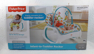 Fisher Price Infant To Toddler Rocker Geo Diamonds Baby [GS A]