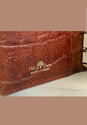 Mulberry Vintage Brown Leather Pocket Organiser-Filofax