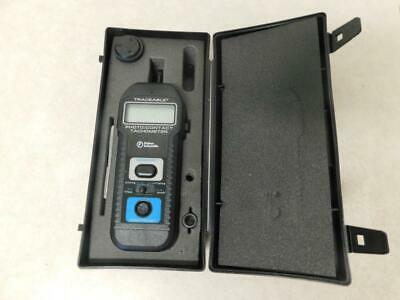 Fisher Scientific Traceable Photo/Contact Tachometer 05-028-23 w/ Case