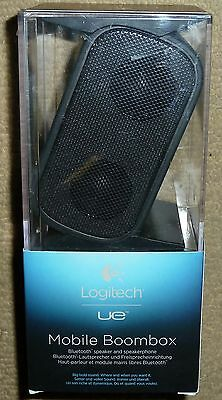 LOGITECH UE MOBILE BOOMBOX PORTABLE WIRELESS BLUETOOTH SPEAKER USB Rechargeable