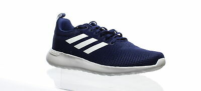Adidas Mens Lite Racer Cln Blue Running Shoes Size 9.5 (437082)