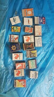Match boxes Various