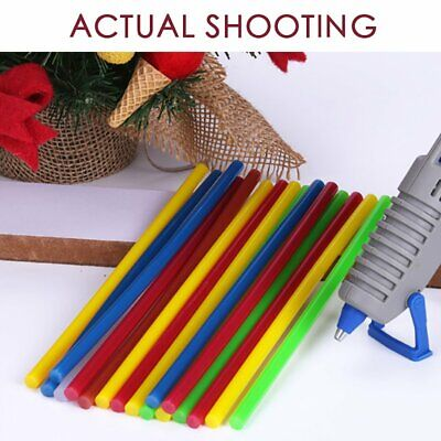 Colorful Hot Melt Glue Sticks Electric Glue Gun Craft Album Repair ej