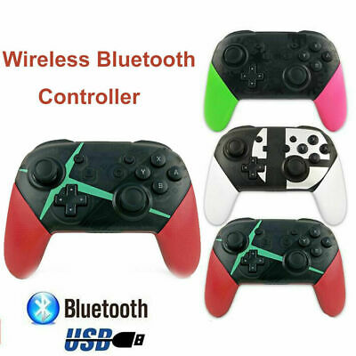 Wireless Bluetooth Pro Controller Gamepad Charging Cable for Nintendo Switch UK·