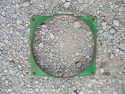 John Deere Tractor original JD radiator fan shroud cover A