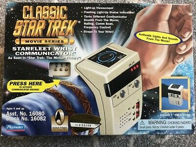 NIP Classic Star Trek Motion Picture Starfleet wrist communicator # 16082