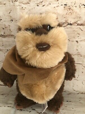 "Disney Parks Star Wars Weekends Wicket W. Warrick the Ewok 9"" Plush"
