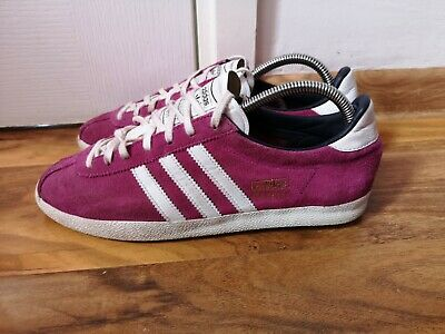 adidas Gazelle OG Womens Pink suede trainers, size 6.5 UK  Q20701