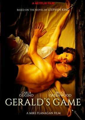 Gerald's Game  Stephen King 2019 movie [DVD/Netflix]
