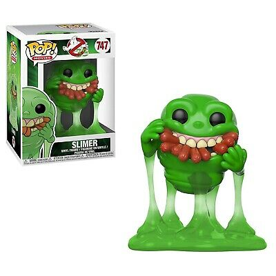 Funko - POP Movies: Ghostbusters - Slimer w/ Hot Dogs Brand New In Box
