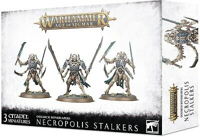 Grand Alliance: Death Ossiarch Bonereapers Necropolis Stalkers/Immortis Guard