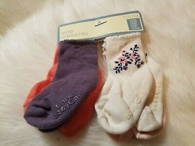 Baby Gap Infant Baby Toddler Girls Chaussettes Socks 12/24 months lot of 4 pairs