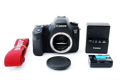 Canon EOS 6D 20.2MP Digital SLR Camera - Black Body Only, in excellent condition