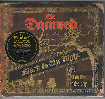 The Damned - Black Is The Night: The Definitive Anthology (2 Cd Set) New 2019