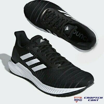 Adidas Solar Ride M Men's Running Shoes Black White Casual Sneakers G27772