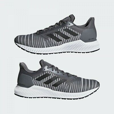 Adidas Solar Ride M Men's Running Shoes Grey Casual Sneakers F37056 Size 11.5