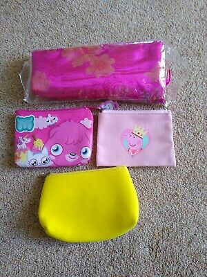 Purses including Moshi monsters and Peppa pig