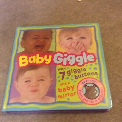 Baby Giggle Board Book. 7 Giggles And A Mirror.