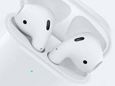 Apple AirPods 2 (2019) + Etui de recharge sans fil - Wireless Charging Case