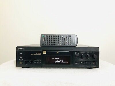 Minidisc Player Recorder Deck MD Sony MDS-JA30ES with remote & user manual