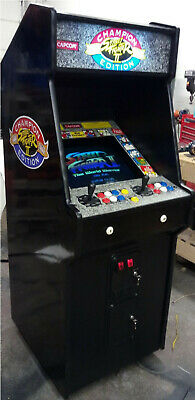 STREET FIGHTER II ARCADE MACHINE by CAPCOM (Excellent Condition)