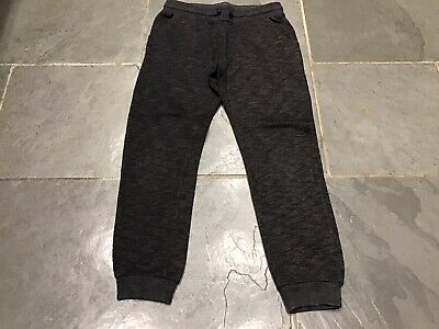 Girl's Black H&M Joggers, Age 9-10 Years, Exc Com