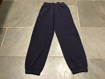 Girl's Navy George Joggers, Age 7-8 Years, Exc Con