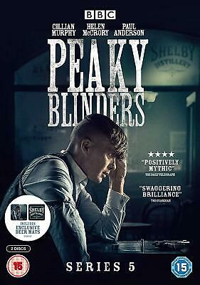 Peaky Blinders – Series 5 DVD BBC Period Crime Drama NEW
