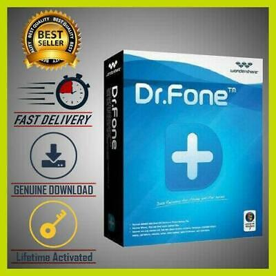 ✔Wondershare Dr.Fone Toolkit for iOS & Android v9.9.5.38 🔑Lifetime Activated🔥