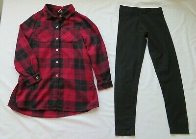 m&s & tu girls outfit age 9  years