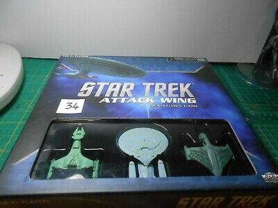 Lot 34 - Star Trek Attack Wing Starter Box - Opened but unpunched