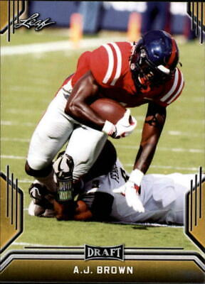 2019 Leaf NCAA/NFL Pre Rookie Draft GOLD Parallel Cards Pick From List