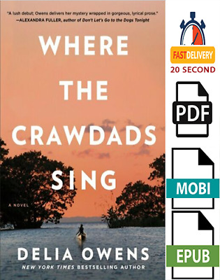 ✅ Where The Crawdads Sing By Delia Owens ✅ (eBooks)  PDF, ePub ✔