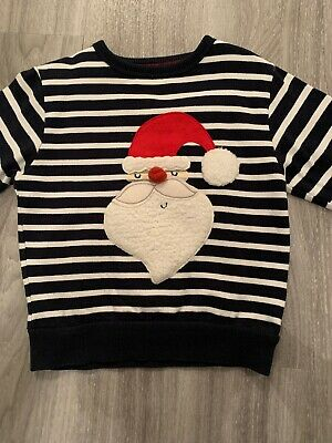 Baby Boys Next Christmas Jumper - Age 18/24 Months