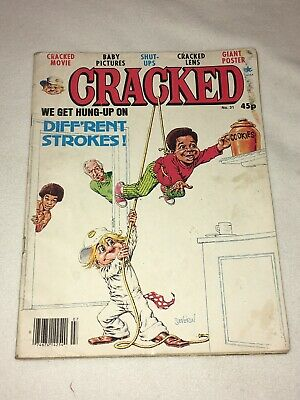 "VINTAGE "" CRACKED "" COMIC DATED 1981 No 31 FEATURING DIFFERENTSTROKES"