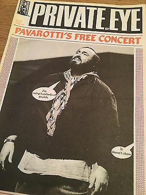 Private Eye Magazine Number No 773 August 2 1991 Pavarotti