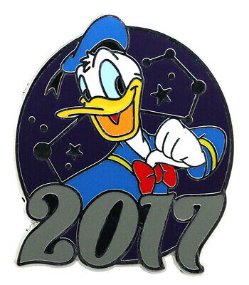 2017 Disney Parks Mystery Collection Donald Pin