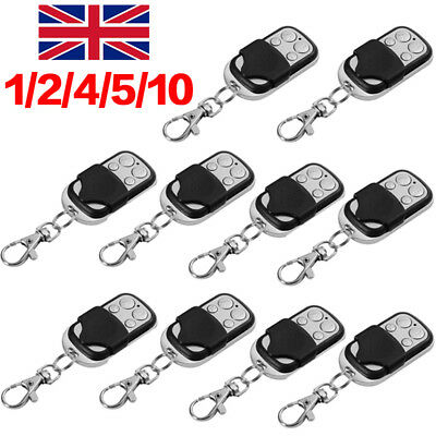 Electric Cloning Universal Gate Garage Door Remote Control Fob 433mhz Key Fob S