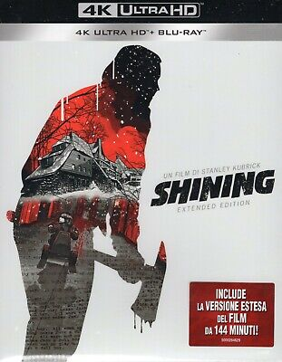 Shining. Extended cut 4K Ultra HD (1980) 2 Blu Ray