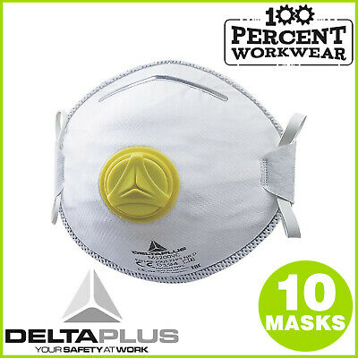 Engineering Cutting Grinding Welding FFP2 Disposable Dust Masks Valve Respirator