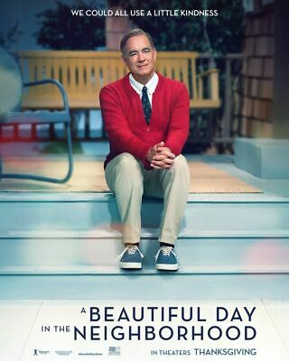 A Beautiful Day in the Neighborhood original DS movie poster 27x40 D/S Tom Hanks