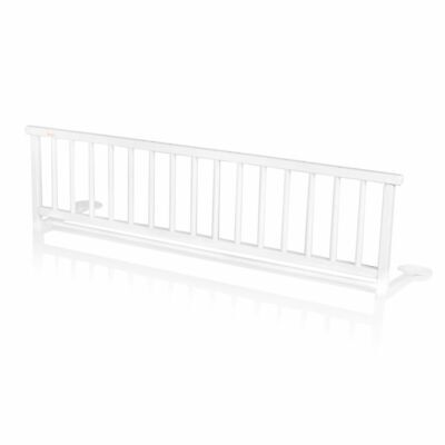Baninni Bed Rail Rocco White Wood Child Baby Cot Safety Guard BNBTA015-WH~