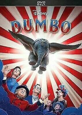Disney 'Dumbo' 2019 DVD Only Removed from Multi Pack-New No Case