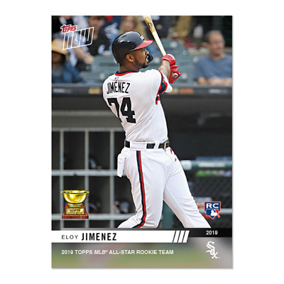 2019 TOPPS NOW RC-6 ELOY JIMENEZ MLB All-Star Rookie Team Cup CHICAGO WHITE SOX