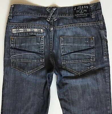 Boys J Jeans Slim Straight Blue Faded Jeans Size 14 Years (250